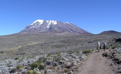 Kilimanjaro Kibo summit